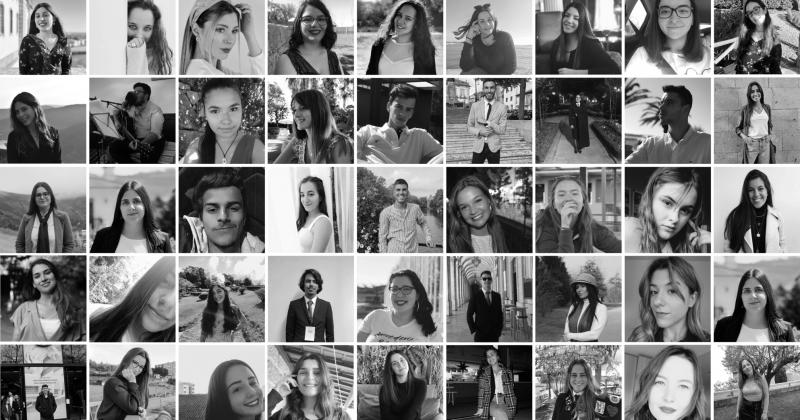 Estudantes do IPCA deixam mensagem de força a Portugal
