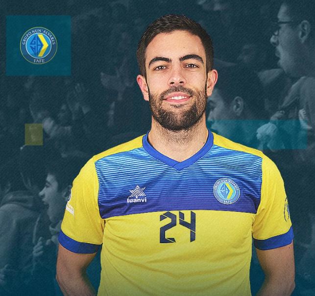 GD Nun'Álvares renova contrato com Pedro Ribeiro para 2020/2021