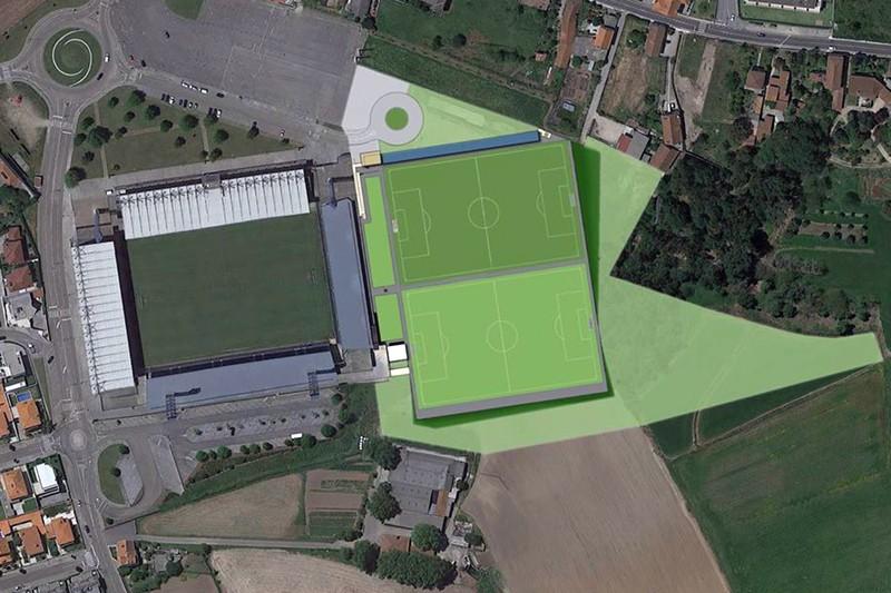 Câmara de Barcelos aprova construção da segunda fase do estádio do Gil Vicente