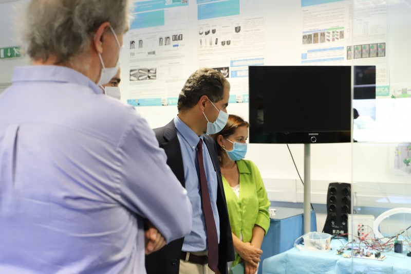 Ministro da Ciência, Tecnologia e Ensino Superior visita o IPCA