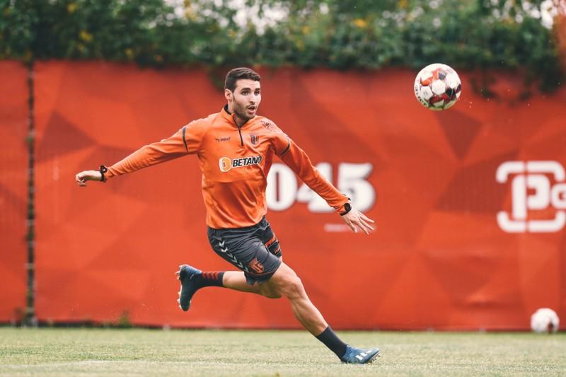 SC Braga: Abel Ruiz e Tormena são cartas fora do baralho