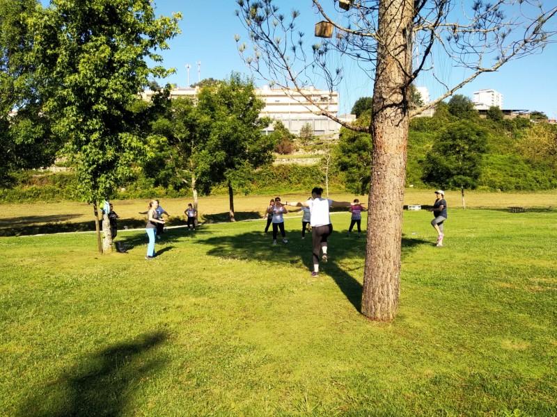 Póvoa de Lanhoso: Aulas de ginásticas  para todos no Pontido