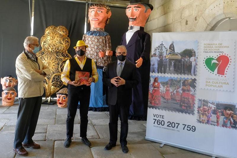 Augusto Canário é padrinho de candidatura da Romaria d'Agonia às '7 Maravilhas da Cultura Popular'