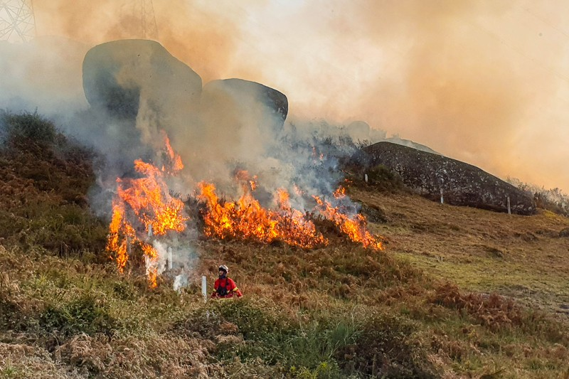 Proibidas queimas e queimadas em Vieira do Minho até Setembro