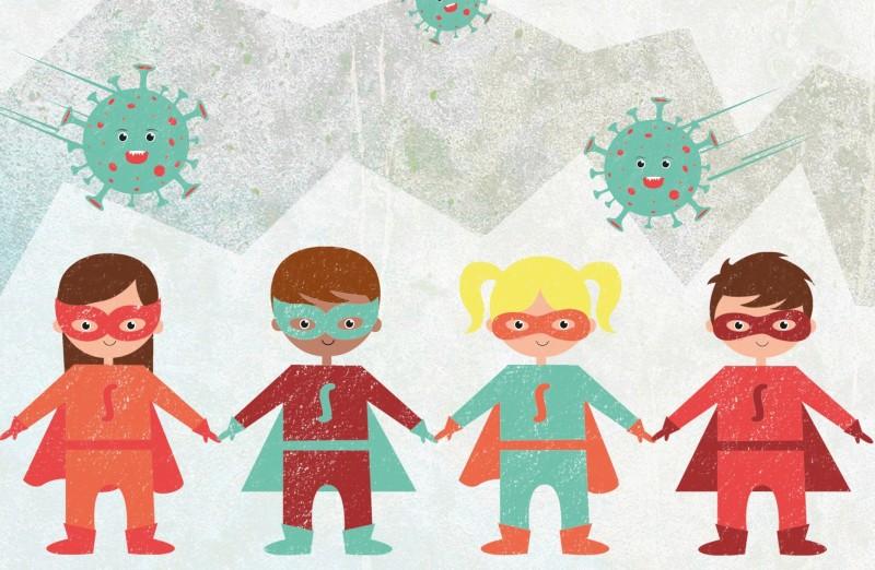 Portal on-line sensibiliza crianças sobre a Covid-19