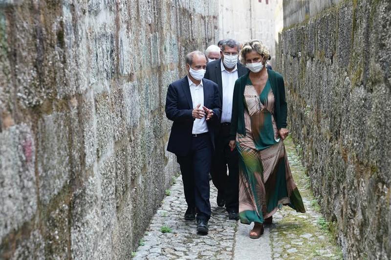 Ministra elogia visão integrada do desenvolvimento do concelho de Guimarães
