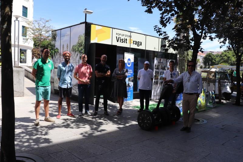 Câmara cede espaço no centro a animadores turísticos para apoiar a retoma do sector