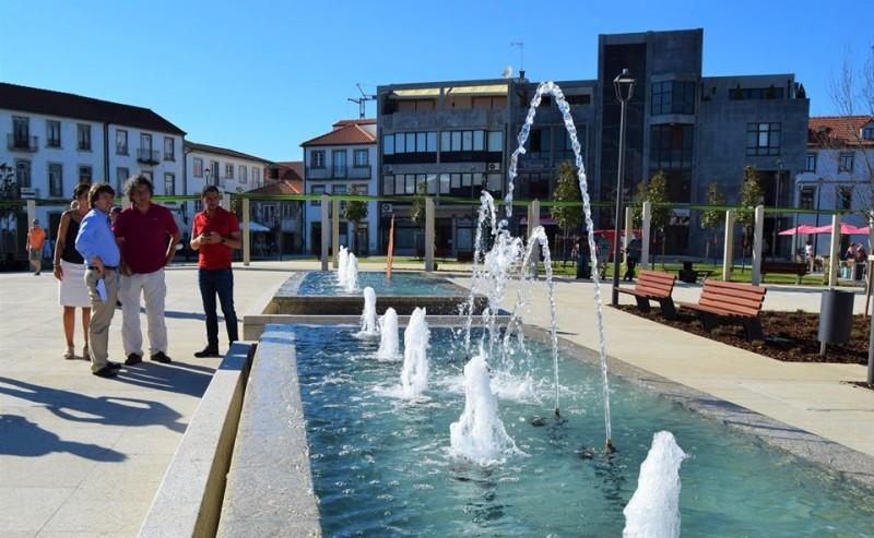 Monção: Praça da República renovada abriu ao público