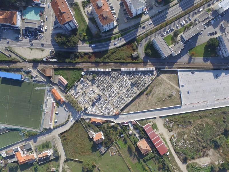 Empreitada de 335 mil euros para ampliação do cemitério de Darque já iniciou