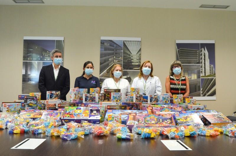Instituição do Reino Unido doa Legos ao Serviço de Pediatria do Hospital de Braga