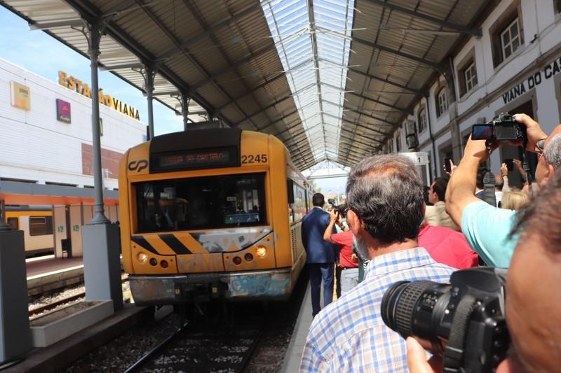 """Retoma do funcionamento do comboio """"Celta"""" é boa notícia para o turismo e setor empresarial de Viana do Castelo"""