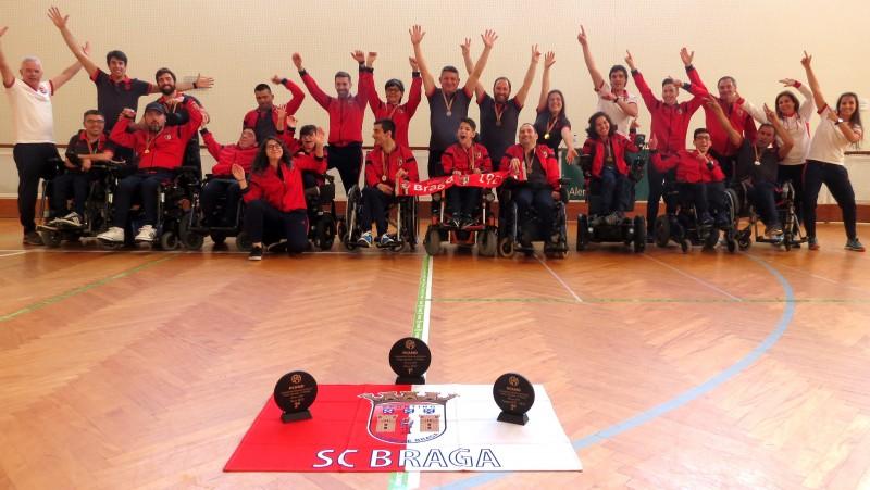 Boccia do SC Braga espera instruções para começar nova época