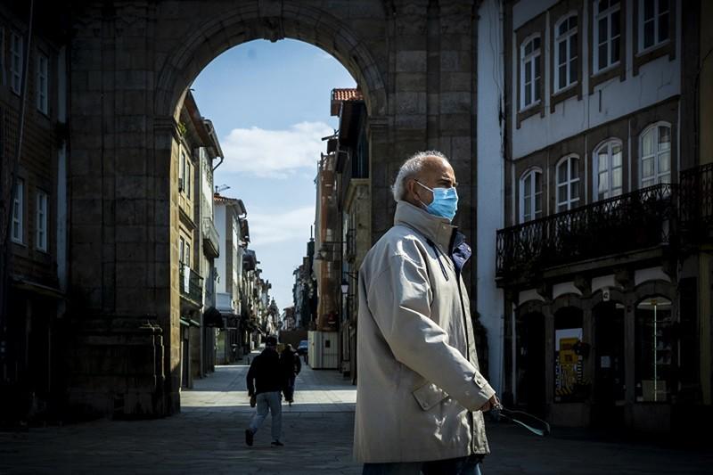 Braga tem 1383 casos activos de Covid-19