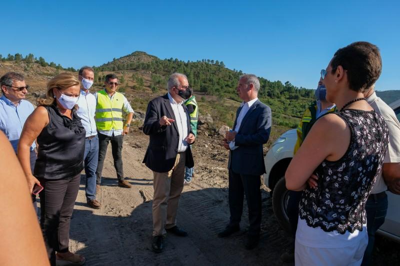 Secretário de Estado da Conservação da Natureza visitou Rede Primária do concelho