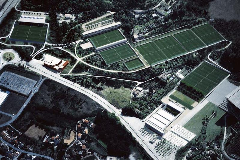 SC Braga na 'mira' da UEFA por instalações de grande nível