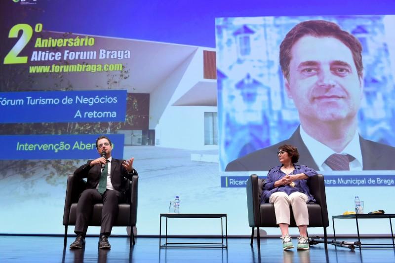 """Altice Forum Braga: """"Estamos a dar um sinal de esperança"""""""