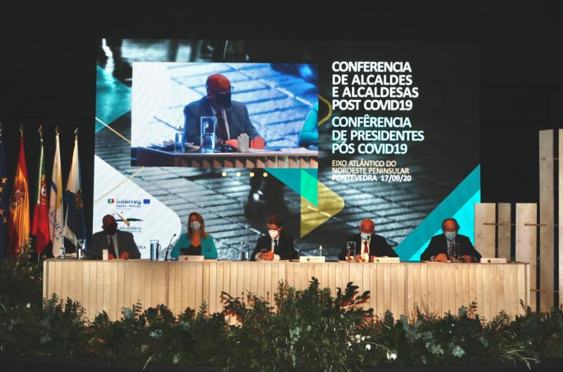 """Autarca de Viana do Castelo participa em """"Conferência de Presidentes"""" na era Pós-COVID 19 promovida pelo Eixo Atlântico"""