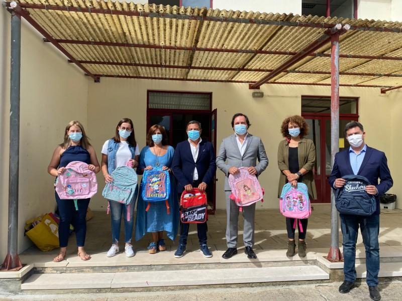 Vizela: Câmara associou-se à entrega de mochilas em Tagilde e S. Paio