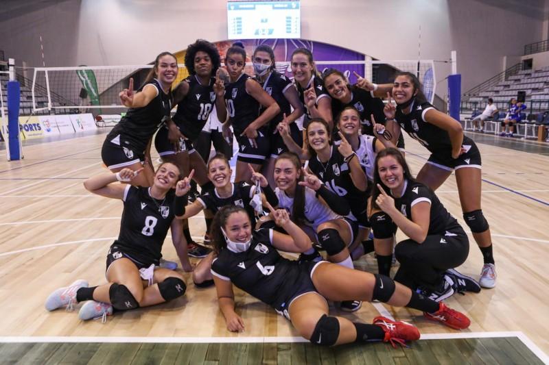 Presidente da Câmara felicita Vitória SC pela promoção da equipa feminina de voleibol