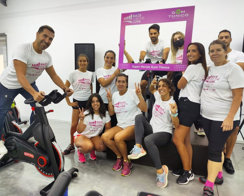 'Race for the Cure' nas redes socais  para combater o cancro da mama