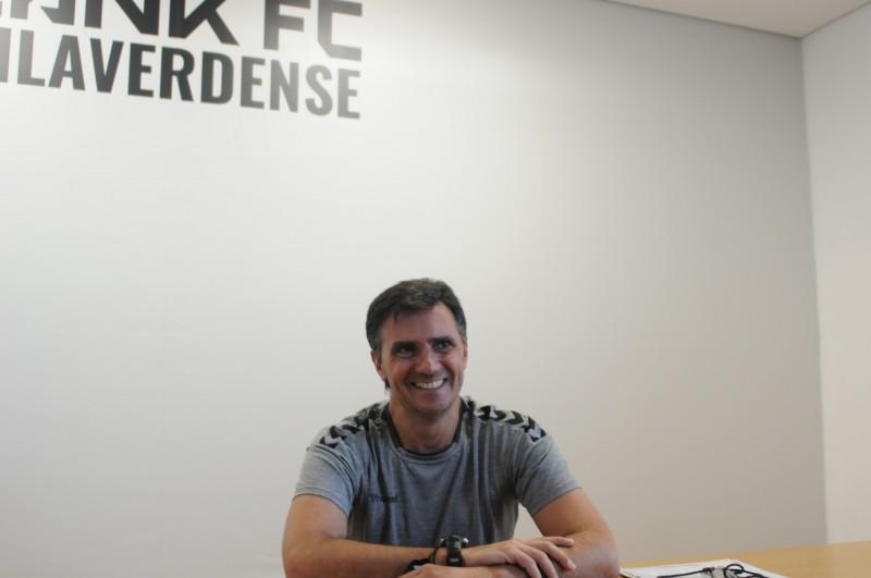 """Hélder Baptista com """"ambição enorme""""  no novo projecto do Lank FC Vilaverdense"""