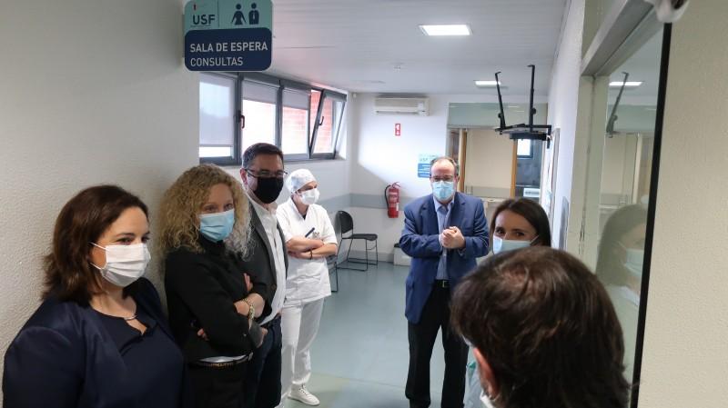 Unidade de Saúde de Forjães reabriu hoje