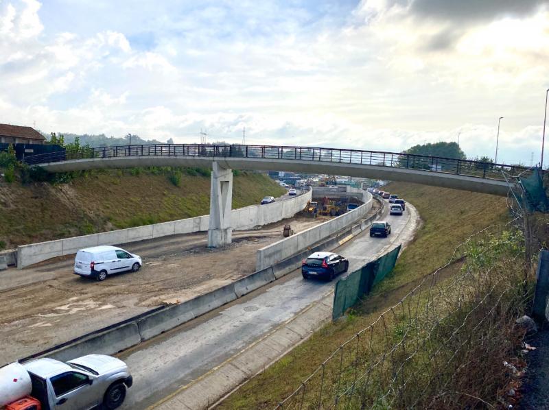 Substituição de ponte pedonal em Silvares condiciona trânsito na entrada/saída da autoestrada