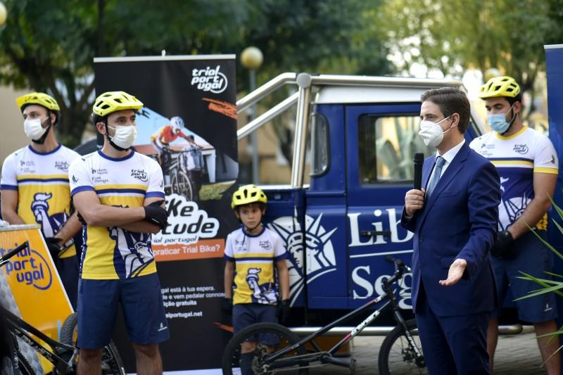 Projecto pioneiro potencia prática de trial bike nos bairros de Braga