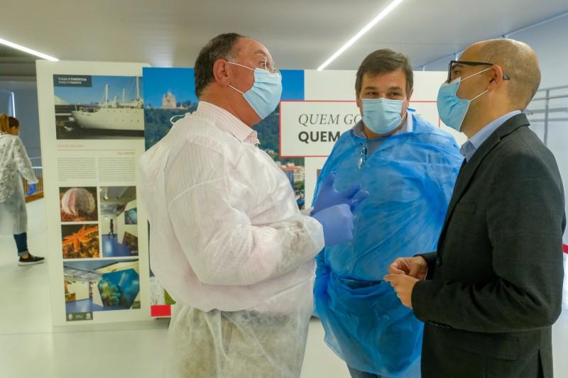 Centro Cultural de Viana do Castelo a funcionar como Unidade de Vacinação para a gripe sazonal