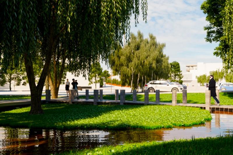 Centro urbano de Famalicão vai ter mais 300 árvores