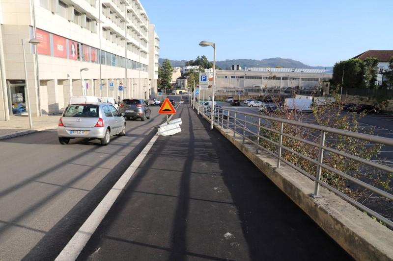 Vizela: arrancou pavimentação da ciclovia