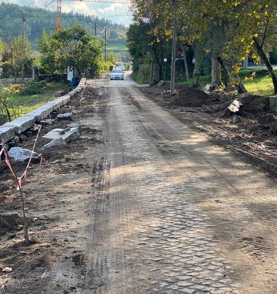 Câmara Municipal da Póvoa de Lanhoso requalifica Rua de Nasce em Calvos