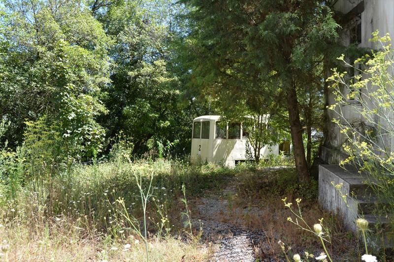 Antiga carruagem do funicular de Santa Luzia alvo de reabilitação