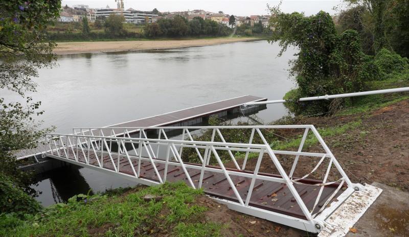 Instalação de ancoradouros nas margens do Rio Cávado