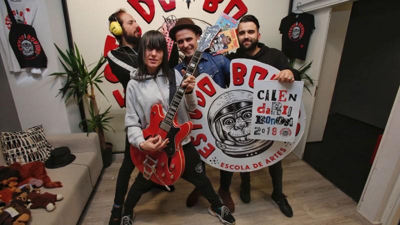 Escola do Rock partilha experiências no projeto europeu Play2Grow