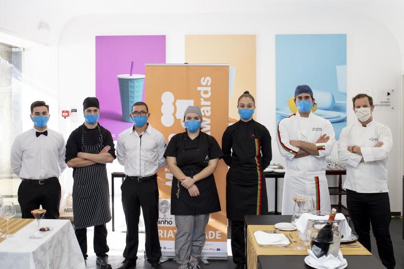 Finalistas disputam representação do Minho no concurso European Young Chef Awards