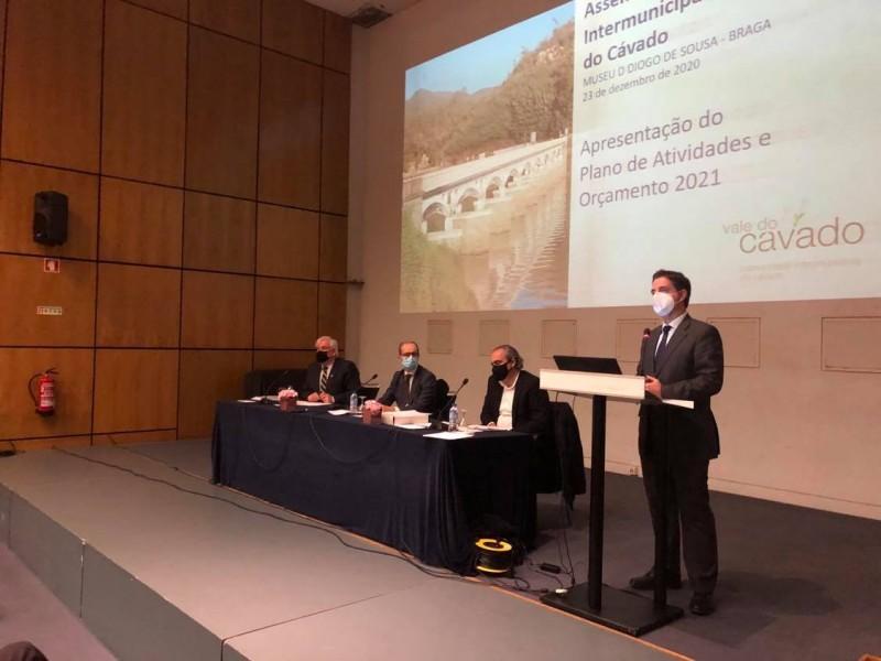 CIM do Cávado atenta a programa de recuperação e novo quadro comunitário