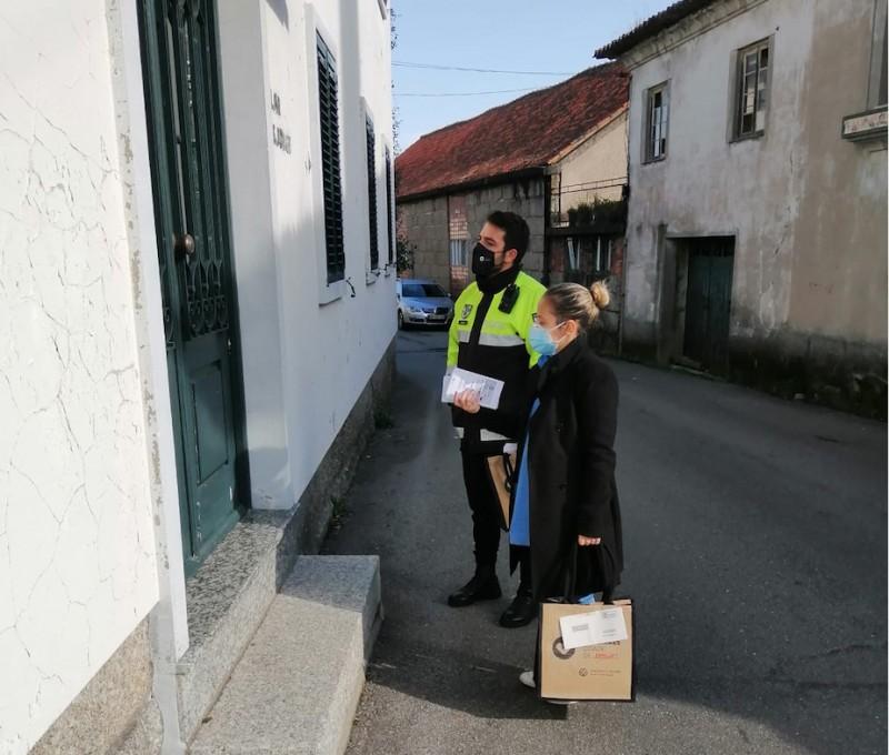 Guimarães distribui mais 100 mil máscaras na comunidade pelas equipas multidisciplinares