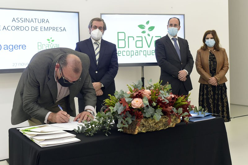 """Agere e Braval vivem """"momento histórico"""" com a assinatura do Acordo de Empresa"""