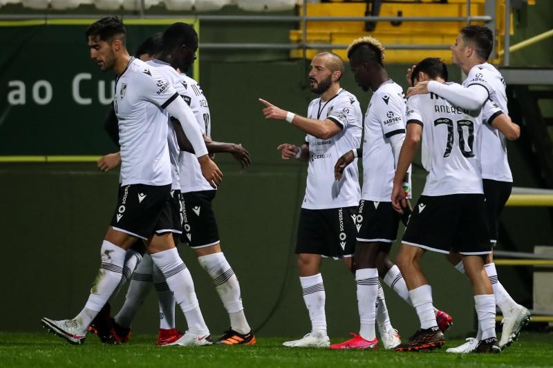 Vitória SC vence beirões e está com um pé na Taça da Liga
