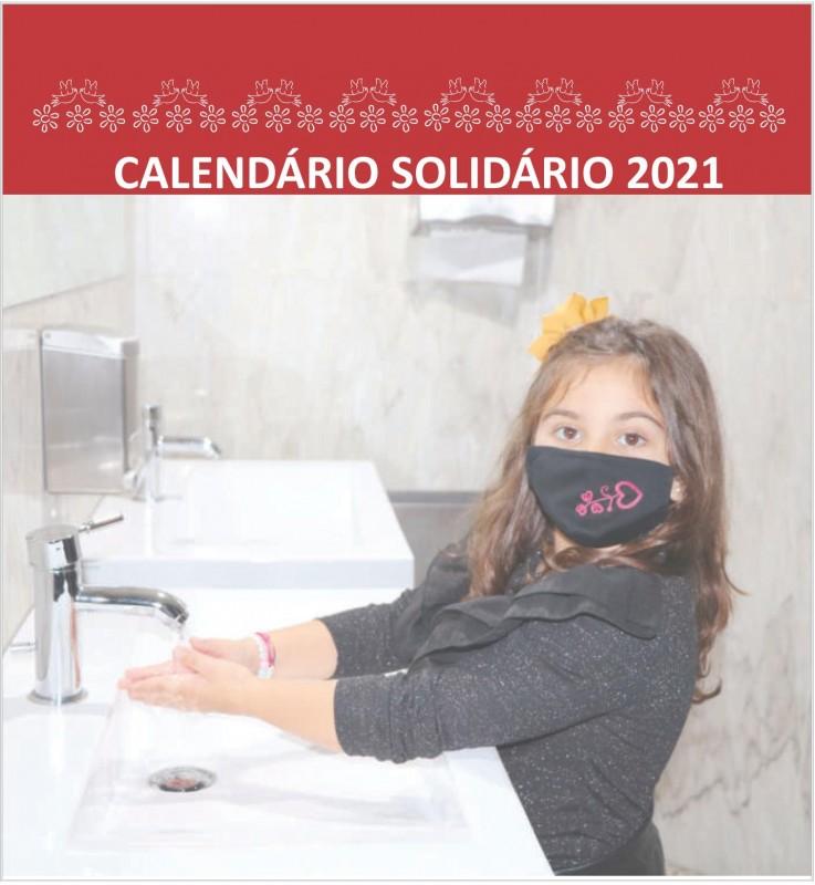 Calendário solidário sensibiliza população para travar pandemia