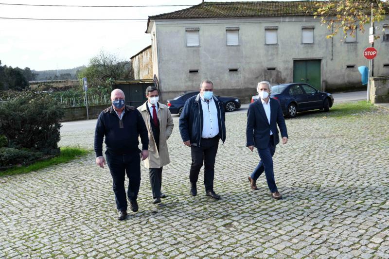Câmara Municipal investiu quase meio milhão de euros no melhoramento das acessibilidades em Fradelos