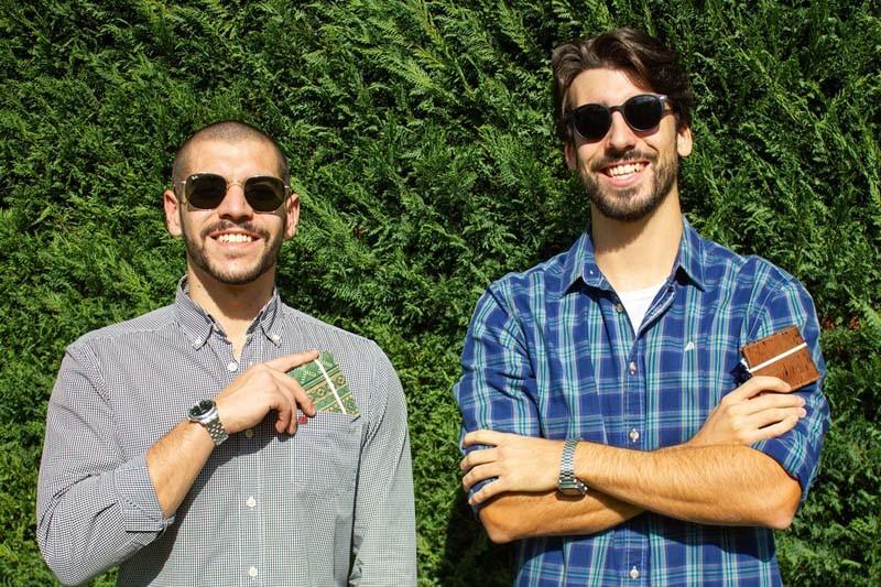 Estudantes da Universidade do Minho criaram porta-máscaras de cortiça