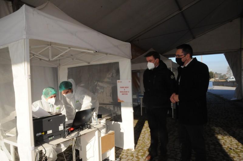 esposende: Centro de Rastreio pode realizar  250 testes por dia