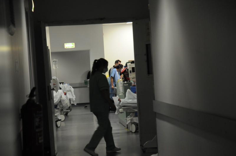 Hospital tem 134 doentes internados com Covid-19