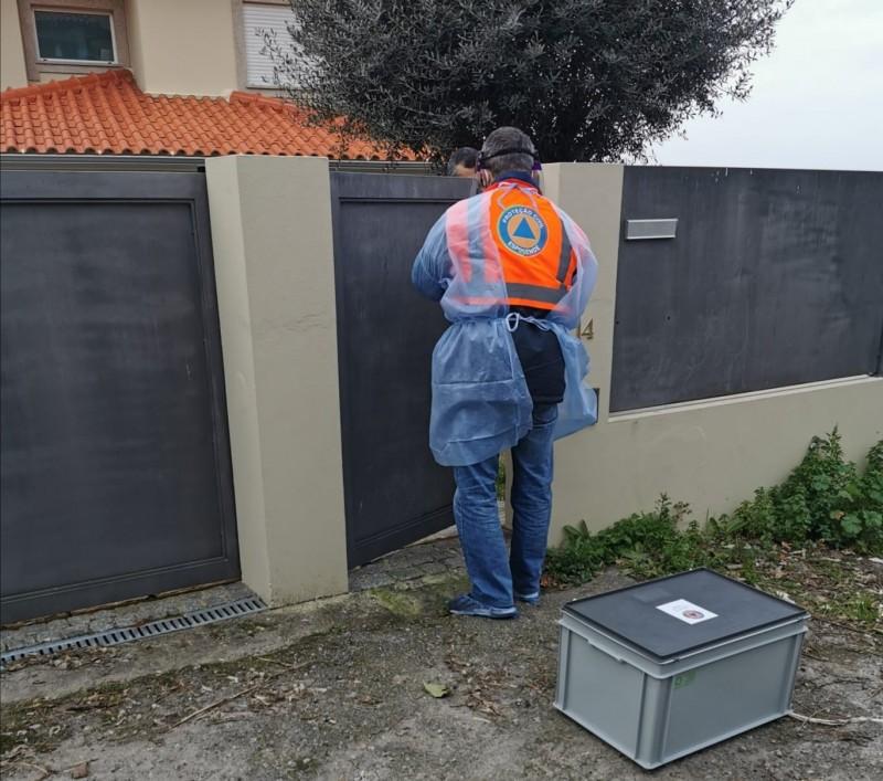 Votos recolhidos nos lares e porta a porta