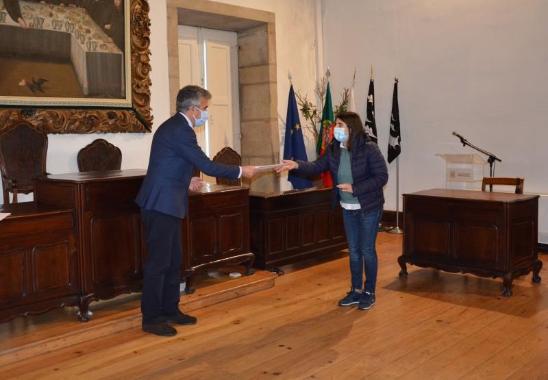 Presidente da Câmara entregou prémios aos vencedores do Concurso de Natal 'Montra Mágica'