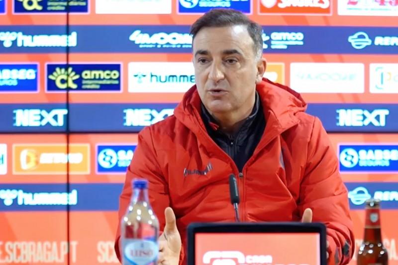 """Carlos Carvalhal: """"Fizemos um grande jogo, um dos melhores da época"""""""