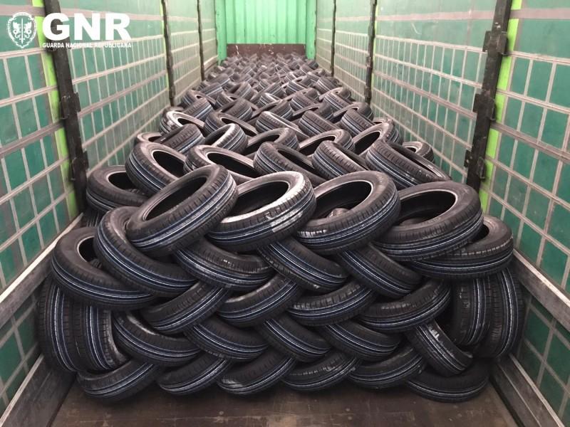GNR recupera 539 pneus roubados
