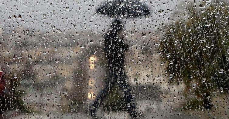 Mau Tempo: Fim-de-semana com chuva, granizo e trovoada